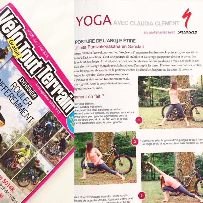 claudia clement bike and yoga velo tout terrain magazine