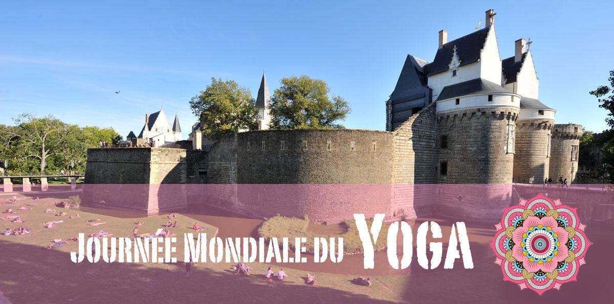 journée mondiale du yoga - château de ducs de bretagne - claudia clement