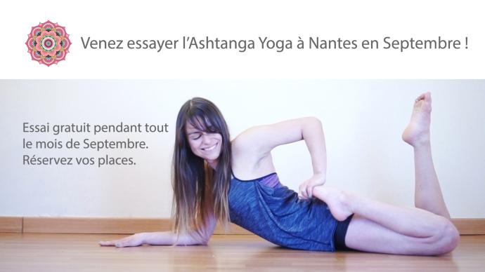 Claudia clement ashtanga yoga nantes cours gratuit