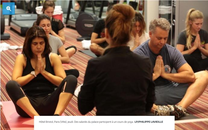Bien-être au travail: du yoga pour tous