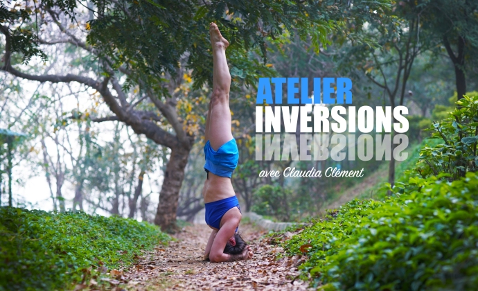 atelier yoga inversions claudia clement