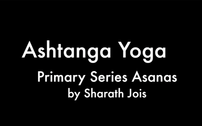 Ashtanga Yoga Primary Series Asanas Names by Sharath Jois